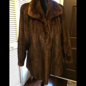 Jackets & Blazers - Gorgeous Brown Mink Coat